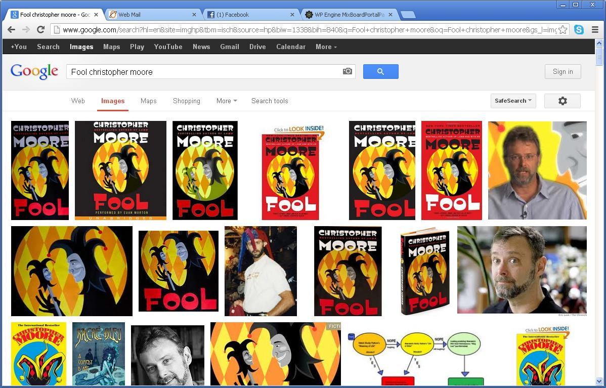 google image search for Fool audio book cover image